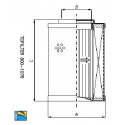翡翠滤芯STR070-3BG1M60
