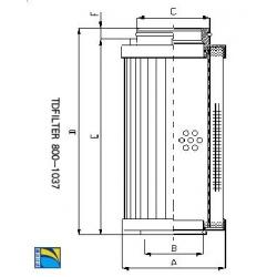 水泥厂滤芯MSF-04-00