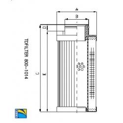 OC168马勒替代滤芯