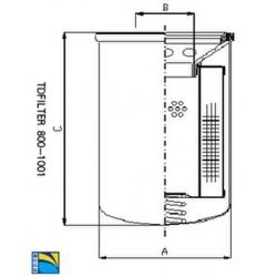 马勒替代滤芯OC170